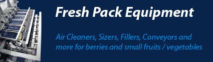 Fresh Pack Blueberry Equipment