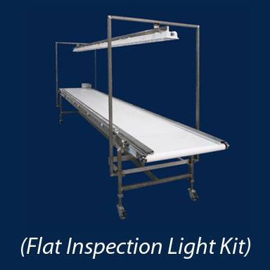 Flat Inspection Conveyor Options